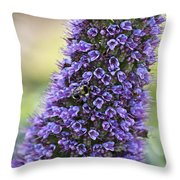 Gathering The Blue Throw Pillow
