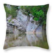 Gator Rock Throw Pillow