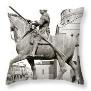 Gattamelata (1370-1443) Throw Pillow