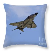 Gear Down Hook Down Throw Pillow