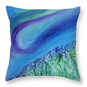 Gel Planet Throw Pillow by Ruth Collis