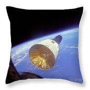 Gemini 6 Views Gemini 7 Throw Pillow