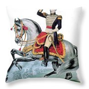General Andrew Jackson, Hero Of New Throw Pillow by Photo Researchers