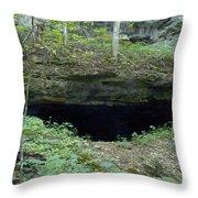 General Davis Cave Throw Pillow