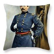 General George Mcclellan Throw Pillow