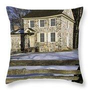 General George Washington Headquarters Throw Pillow