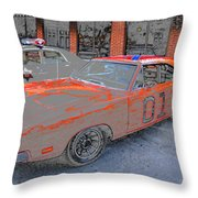 General Lee One Throw Pillow