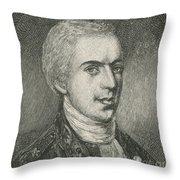 General Samuel B. Webb Throw Pillow