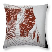 Generations - Tile Throw Pillow
