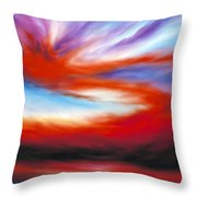 Genesis II Throw Pillow