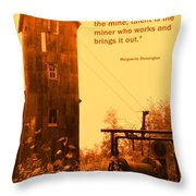 Genius And Talent Throw Pillow