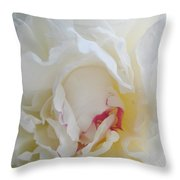 Gently Unfolding Throw Pillow