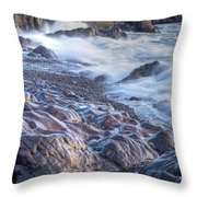 Gently Worn Throw Pillow