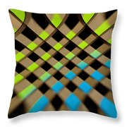 Geometrical Colors And Shapes 1 Throw Pillow