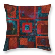 Geomix 02 - Sp07c03b Throw Pillow