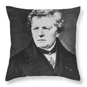 Georg Ohm, German Physicist Throw Pillow