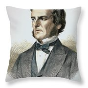 George Boole (1815-1864) Throw Pillow