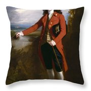George Boone Roupell Throw Pillow
