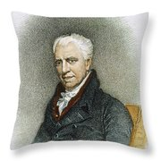George Crabbe (1754-1832) Throw Pillow