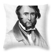 George Cruikshank Throw Pillow