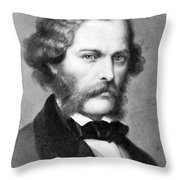 George Henry Lewes, English Philosopher Throw Pillow