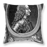 George II (1683-1760) Throw Pillow