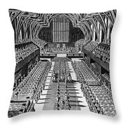 George IIi: Coronation, 1761 Throw Pillow