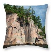 George Lake Throw Pillow
