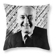 George M. Cohen (1878-1942). George Michael Cohen. American Actor, Composer And Producer. Photographed By Carl Van Vechten, 1933 Throw Pillow