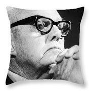 George Meany (1894-1980) Throw Pillow