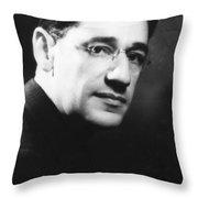 George Simon Kaufman Throw Pillow