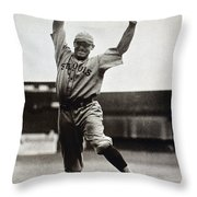 George Sisler (1893-1973) Throw Pillow