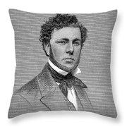 George Steers (1820-1856) Throw Pillow
