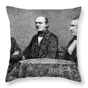 George Thompson (1804-1878) Throw Pillow by Granger