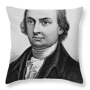 George Walton (1749-1804) Throw Pillow