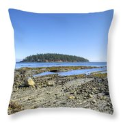 Georgeson Island Throw Pillow