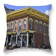 Georgetown Colorado On Canvas Throw Pillow