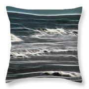 Georgia - Ocean Sparks Throw Pillow
