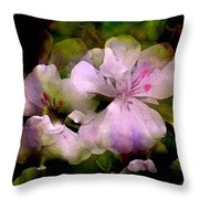 Geranium 8 Throw Pillow