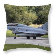 German Eurofighter Trainer Taking Throw Pillow