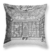 Germany: Gallery, 1731 Throw Pillow