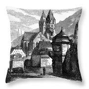 Germany: W�rzburg Throw Pillow