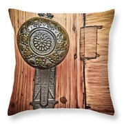 Get A Handle On Things Throw Pillow