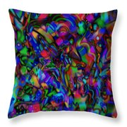 Get Busy Throw Pillow
