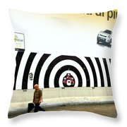 Getting Closer Throw Pillow