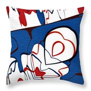 Getting Crushed Throw Pillow