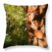 Getting Ready For Winter Throw Pillow