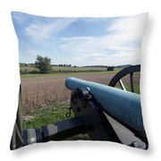 Gettysburg Vintage Cannon Throw Pillow