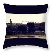 Ghirardelli Square Throw Pillow