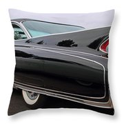 Ghost Cadillac Throw Pillow